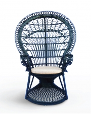 PEACOCK BLACK CHAIR