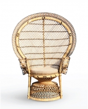 PEACOCK NATURAL CHAIR